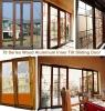 aluminum wood composite door