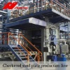 checked steel plate production line