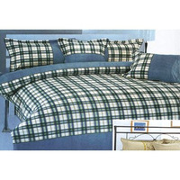 6-Piece Grid Bedding Set
