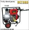 """4""""diesel water pump"""