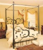 Antique Queen Size Iron Canopy Beds