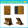the newest design Press button rotating Leather Case for iPad Mini case brown