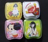 ABS Compact Contact Lens Cases with the colorful card