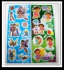 100% plastic 3D car PVC stickers