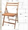 our door wooden folding chair