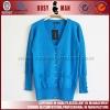 2012 new style sky blue lady cardigan knitwear