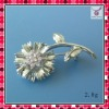 2011 new trend fashion silver pearl brooch,lady brooch,top designer brooch,hot selling costume jewelry