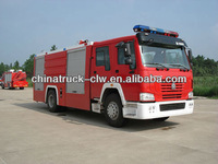 famous sino 4x2 fire fighting truck