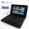 Protective Leather Case For 7 Inch Tablet PC Black Color