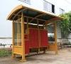 postal shelter for mail service