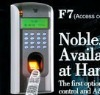 TCP/IP, RS232/485 Fingerprint+password safe door entry control system HF-F7