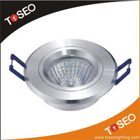 Pure aluminium recessed ceiling lighting