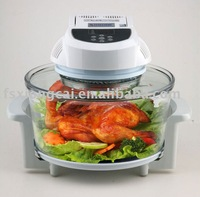 glass electric chicken oven