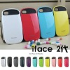 The 2nd generation iface for iphone Reinforced elegant hard case for iPhone 4 /4S with Retail packaging