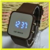 Popular and Waterproof and top brand silicone watch for promotional items