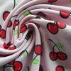 Ladies/Girls Shirt Swimwear Nylon Spandex fabric