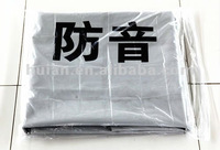 Polyester PVC Laminated Sound-proof Fabric(high quality) for construction