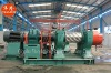 Reclaimed rubber mahcinery (XK-450 rubber mixing mill) used tyre recycling plant