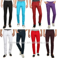 Fashion European Design 8 Colors Cheap Skinny Colored Jeans For Men(A22)