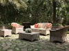 Modern design rattan sofa furniture set