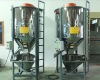 vertical spiral agitator for plastic flakes pellets mixing