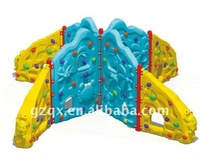 Childrens soft climbing wall multi-funs four sides