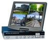 H.264 Compression 4CH All-in-one Digital Video Recorder