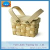 2012 100% handmade weaving small little gift wooden basket