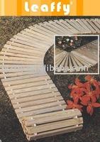 Woonden Garden Floor