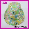 wholesale organic polyester lady bucket hat
