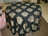 Euro Style Large Decorative Flower Pattern Jacquard Table Skirt