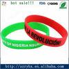 popular silicone wristband custom design bangle bracelets