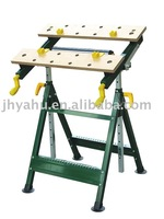 Multifunctional woodworking workbench for promotion