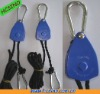 "1/8"" HVAC Ventilation Fan Rope Ratchet Hanger -- Blue Color"