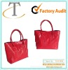 new arrival shiny red handbag in low price