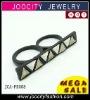 Wholesale double ring Retro rings Gothic punk rings JCA-PR058