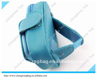 2012 latest fashion blue camera bag