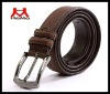 high quality man's genuine leather belt
