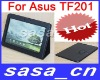 "High quality Case for 10.1"" Asus Eee Pad transformer prime TF201,adjustable leather case"