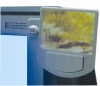 AL0304 Adjustable Computer Monitor Mirror with photo & message clip
