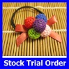 New Style Elastic Hair Band with Candy Ball for Woman Hair Accessries