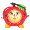 H&3 Fashion colorful apple shape red desk clock