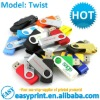 Twist USB Flash Drive size from 128 MB to 32 GB with logo print