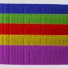 Colorful woven pp webbing straps
