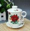4pcs porcelain tea cup and mug