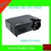 low cost Multimedia video Projector 1080P big promotion
