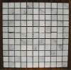 Natural East White Marble Mosaic with Mini Square Pattern