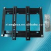 with black coated lcd tv wall mount bracket