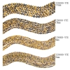 6mm - 14mm Round Beads Strand Yellow Tiger Eye