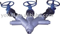 Jacket 4-way melt valve